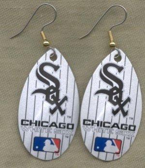 Chicago White Sox Ear Rings