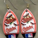Baltimore Orioles Ear Rings