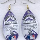 Colorado Rockies Ear Rings