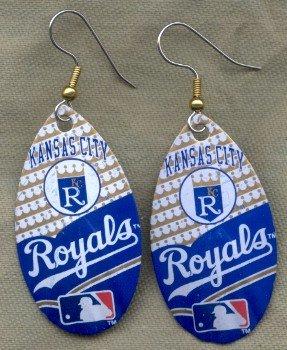 Kansas City Royals Ear Rings