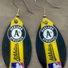 Oakland Athletics Ear Rings