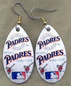 San Diego Padres Ear Rings