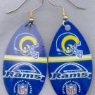 St. Louis Rams Ear Rings