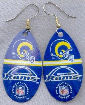 St. Louis Rams Ear Rings