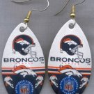 Denver Broncos Ear Rings