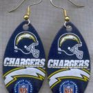 San Diego Chargers Ear Rings