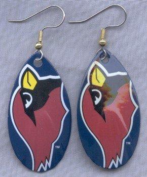 Arizona Cardinals Ear Rings