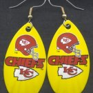Kansas City Chiefs Ear Rings