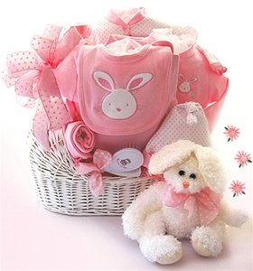 Lovely and Girly Baby Basket