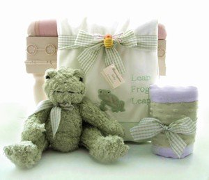 Greeny The Frog Gift set