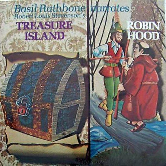 "Basil Rathbone ""Robin Hood/Treasure Island"" CD"