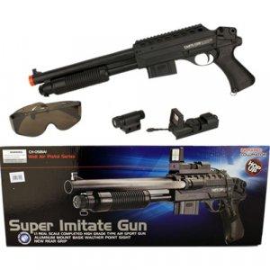 Pump Action Shotgun w/ Laser
