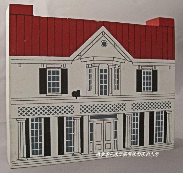 CAT'S MEOW VILLAGE 1994 BLACK HERITAGE DOUGLAS HOME NEW