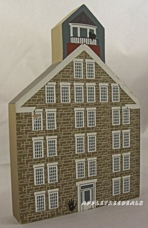 CAT'S CAT'S MEOW VILLAGE SHAKER SERIES GREAT STONE DWELLING