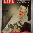 Life Magazine Nov 23 1959 Mary martin Taxes Birth Control Fad