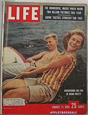 Life Magazine Aug 11 1958 Intergration Haiti Lebanon  Space Pics