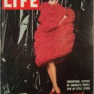 Life Magazine Sept 26 1960 American Fashion Norell Nixon Kennedy