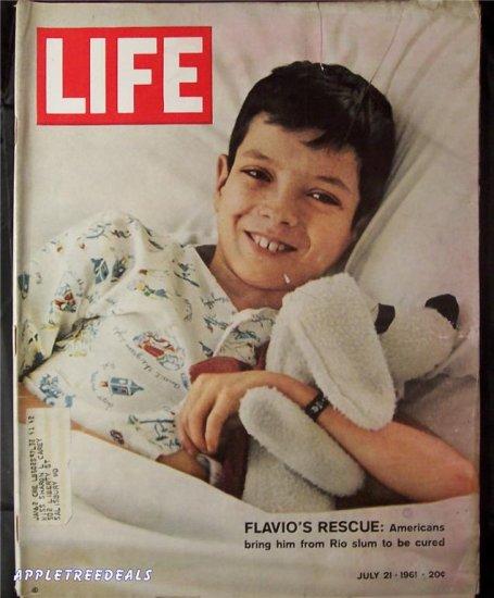 Life Magazine July 21 1961 Flavios Rescue Moreau Siberian navy