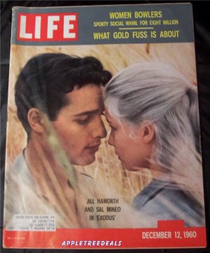 Life Magazine Dec 12 1960 Haworth Mineo Gold Churchill Kennedy