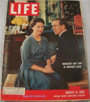 Life Magazine Mar 14 1960 Princess Margaret Tony Windsor Seige