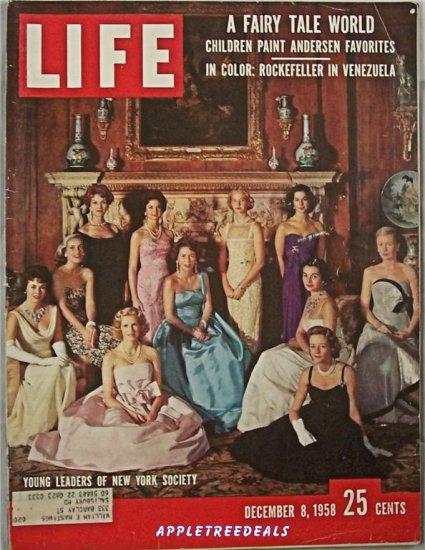 Life Magazine Dec 8 1958 Venezuala Falcon New York