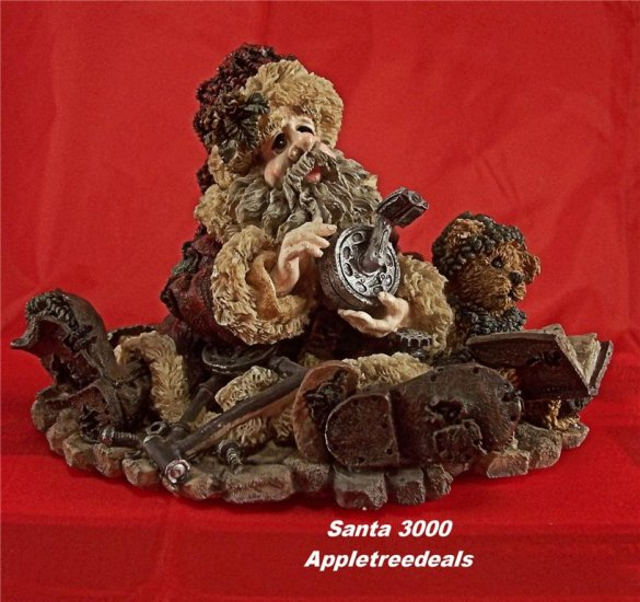 The Boyds Bears Collection Santa and Friends Figurine Santas Challenge 1994 Limited Edition