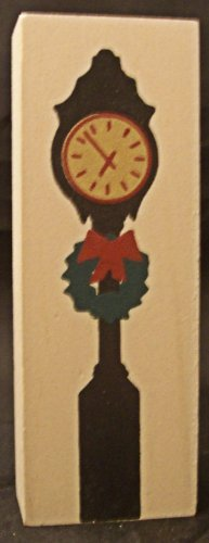 Cat's Meow Village Lamp Clock Posts 2 pcs