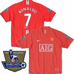 CAMISETA MANCHESTER UNITED LOCAL LIGA RONALDO# TALLA M