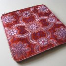 Orange and Gold Brocade Sari Change Purse