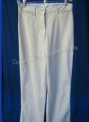 SIZE 6 - Tommy Hilfiger Casual Khaki Capri Cropped Pants