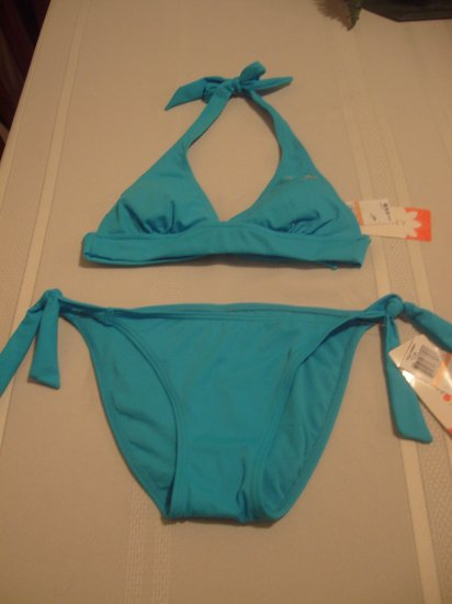 Small Hula Honey Blue 2-piece Bathing Suit