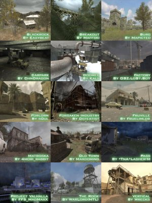 Call of Duty 4 Strategic Map Usage INTERMEDIATE