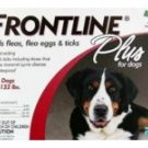 Frontline Plus For Dogs 89-122lbs, Merial New Red Box