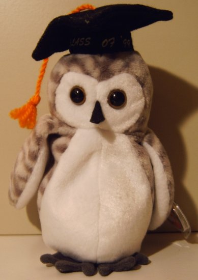 Beanie Babies Wiser the Owl