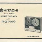 Hitachi Stereo Tape Deck Manual