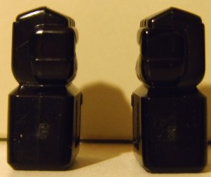 Transformers Decepticon black pair of fists