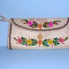 Tropical Clutch Purse from the Philippines Tiki Rattan