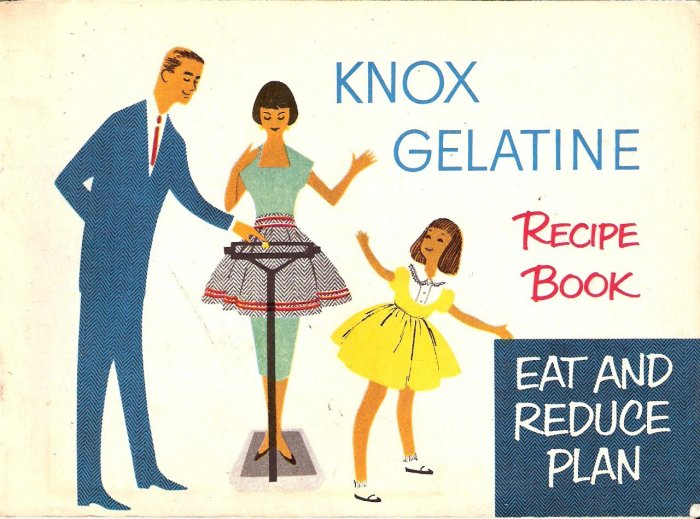 Vintage Knox Gelatine Recipe Book - 1952