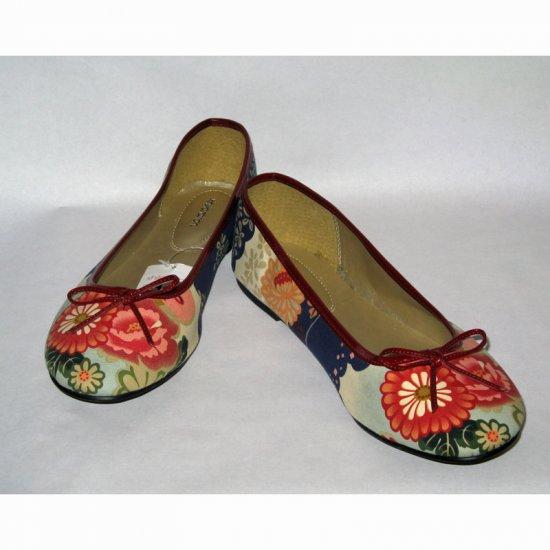 Gorgeous Floral Ballerina Flats - New! - Sz. 9
