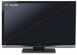 "46"" 1080p LCD HDTV"