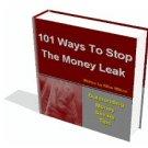 101 Money Saving Tips - eBooks