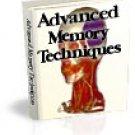 Advanced Memory Techniques - eBooks