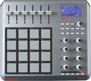 AKAI MPD24 USB MIDI Controller