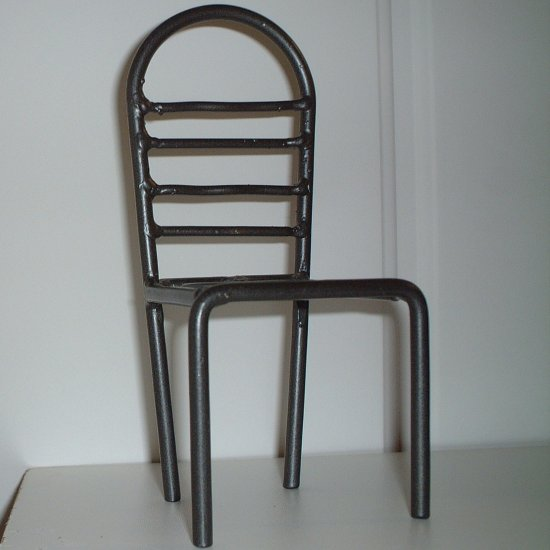 Teddy Bear Chair Soldered Iron