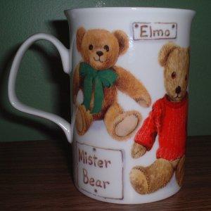 Fine Bone China tea cup/mug Teddy Bear