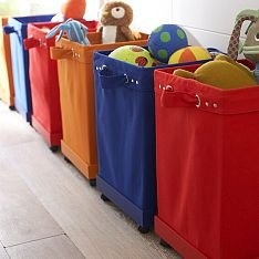 Colourful Storage Bins
