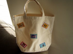 European Vacation Cotton Tote