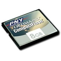 PNY Optima Pro Compact Flash 8GB