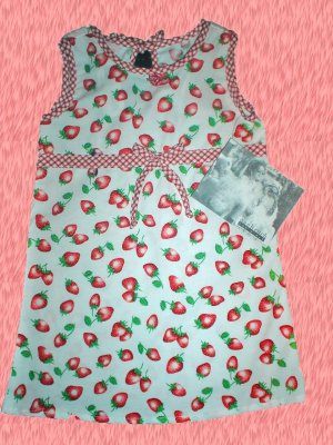 Cach Cach Strawberry Print Dress Toddler  Girl 2 2T