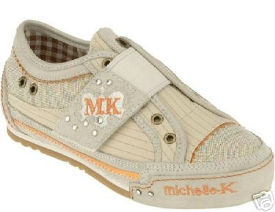 New Michelle K Smitten Sneakers size US 5 Ladies or Girls Retail $55